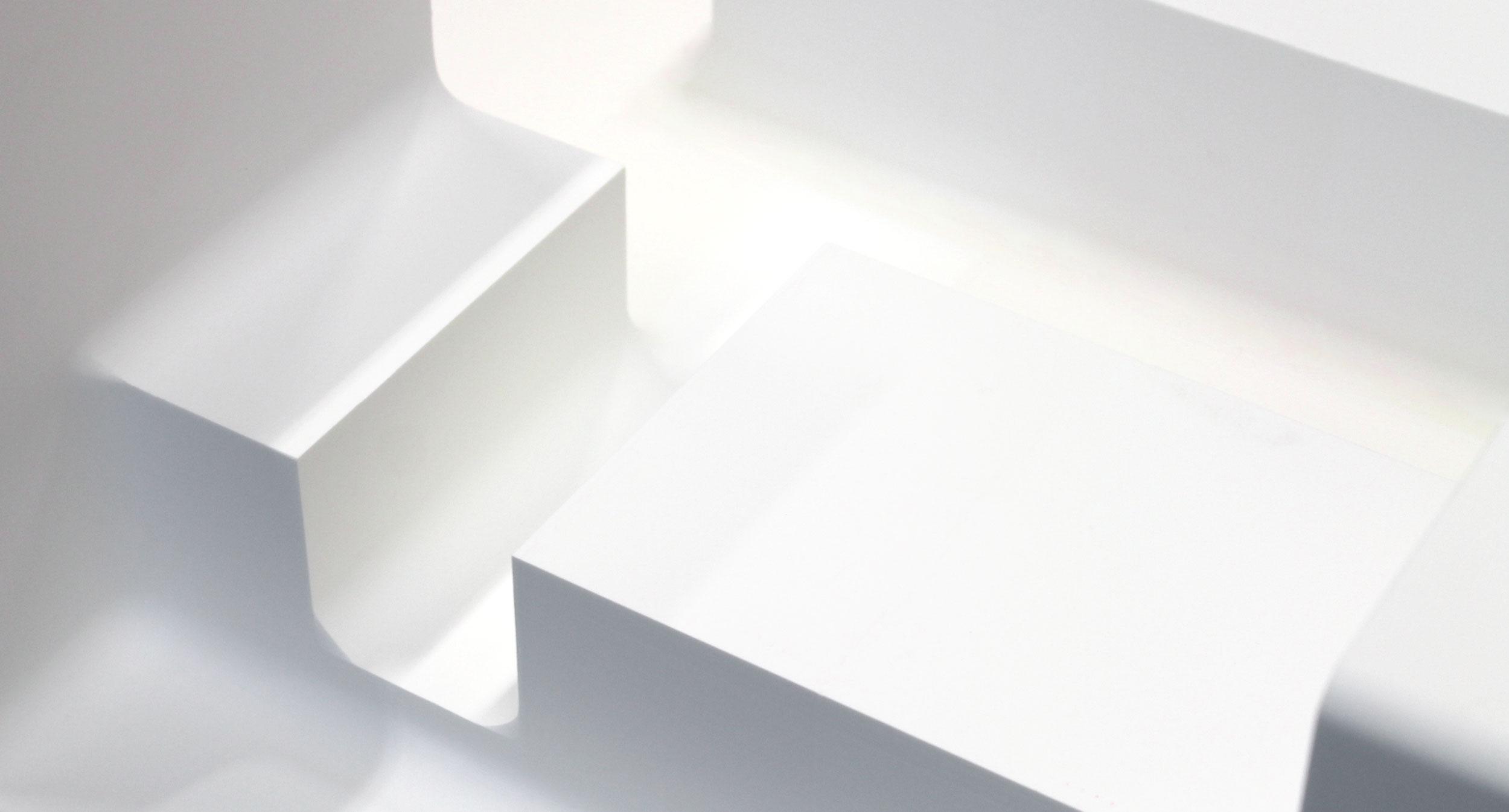 Syntactic foam blocks
