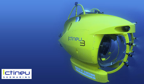 ICTINEU 3 - 1 200m deep sea manned submersible